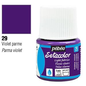 برطمان سيتاكولور 45ملليLight Fabrics 45ml 29 Parma Violet