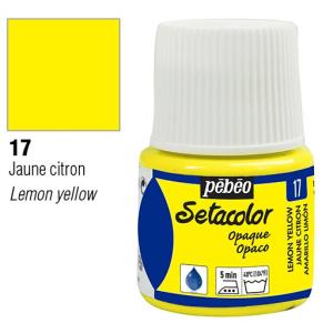 برطمان سيتاكولور 45ملليOpaque 45ml 17 Lemon Yellow