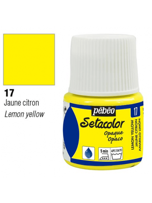برطمان سيتاكولور ٤٥ ملليOpaque 45ml 17 Lemon Yellow