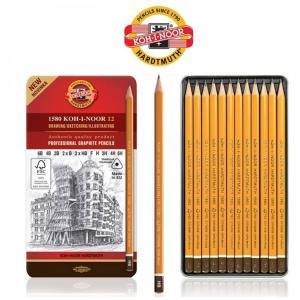 طقم 12 قلم درجات KOH-I-NOOR  6b-6h