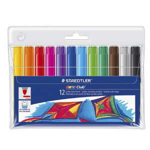 طقم 12 قلم فلوماستر جامبو ستيدلر