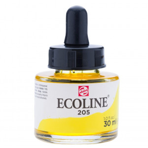 برطمان الوان مائيه إيكولين 30مللي Lemon Yellow 205