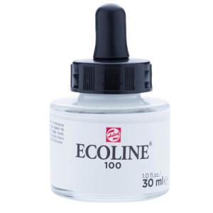 برطمان الوان مائيه إيكولين 30مللي White 100