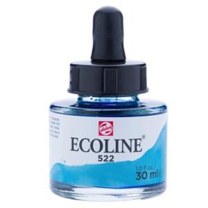 برطمان الوان مائيه إيكولين 30 مللي Turquoise Blue522