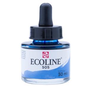 برطمان الوان مائيه إيكولين 30مللي Ultramarine Light505