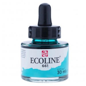 برطمان الوان مائيه إيكولين 30 مللي 661 Turquoise Green