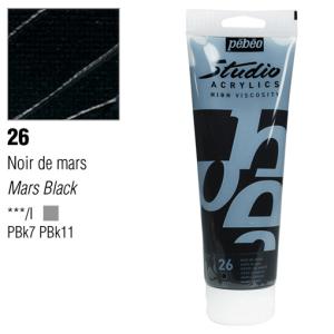 انبوابة اكريلك 250 مللي بيبيو 26 Mars Black