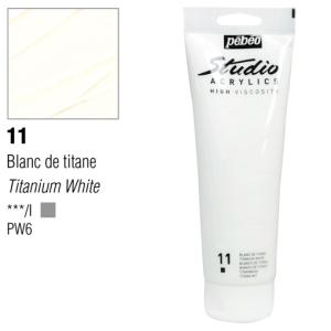 انبوابة اكريلك 250 مللي بيبيو 11 Titanium White