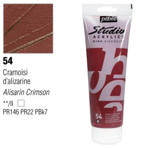 انبوابة اكريلك 250 مللي بيبيو 54 Alizarin Crimson
