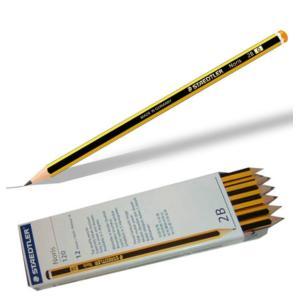 علبة 12 قلم رصاص ستيدلر 2B