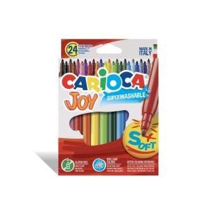 طقم 24 لون فلوماستر  Carioca JOY