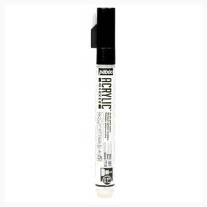 قلم اكريلك بيبيو WHITE 0.7MM-301
