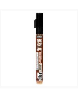 قلم اكريلك بيبيو Burnt Sienna  0.7MM