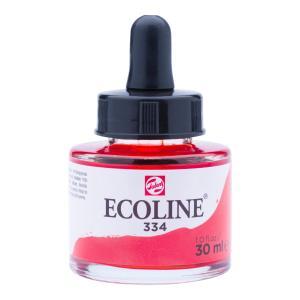 برطمان الوان مائيه إيكولين 30 مللي  Scarlet 334