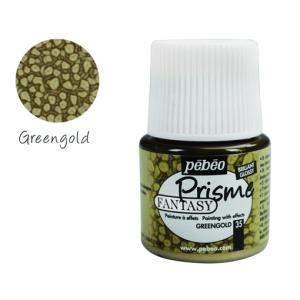 برطمان بريزما كلر بيبيو 45 مللي 35 -Fantasy  Green Gold