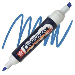 قلم ماركر ساكورا 2 سن ثابت لون Blue -36