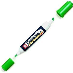 قلم ماركر ساكورا 2 سن ثابت لون Green