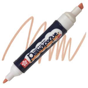 قلم ماركر ساكورا 2 سن ثابت لون Pale Orange-7