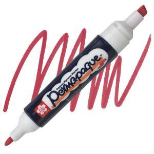 قلم ماركر ساكورا 2 سن ثابت لون  Red