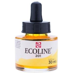 برطمان الوان مائيه إيكولين 30 مللي  LIGHT YELLOW 201