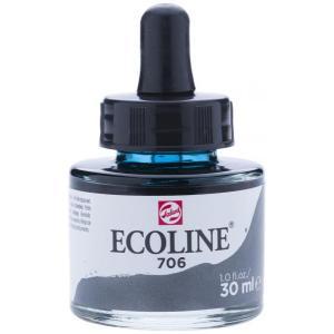 برطمان الوان مائيه إيكولين 30 مللي DEEP GREY 706