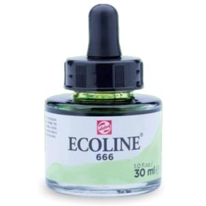 برطمان الوان مائيه إيكولين 30 مللي PASTEL GREEN 666