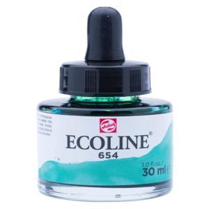 برطمان الوان مائيه إيكولين 30 مللي  FIR GREEN 654
