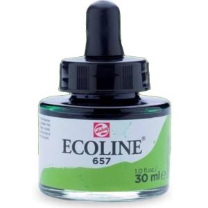 برطمان الوان مائيه إيكولين 30 مللي  BRONZE GREEN 657