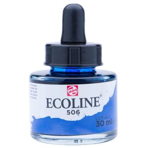 برطمان الوان مائيه إيكولين 30 مللي  ULTRAMARINE DEEP 506