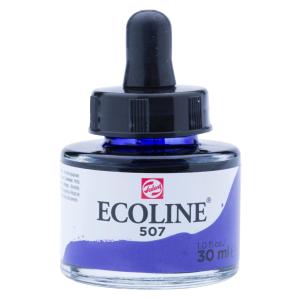 برطمان الوان مائيه إيكولين 30 مللي  ULTRAMARINE VIOLET 507
