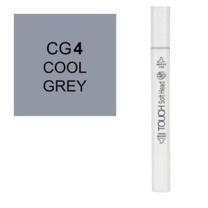 قلم ماركر تاتش برأس لين مزدوج Cool Grey-CG4
