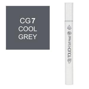 قلم ماركر تاتش برأس لين مزدوج Cool Grey-CG7