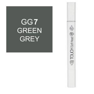 قلم ماركر تاتش برأس لين مزدوج Green Grey-GG7
