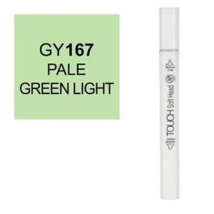 قلم ماركر تاتش برأس لين مزدوج Pale Green Light-167