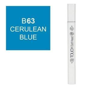 قلم ماركر تاتش برأس لين مزدوج  Cerulean Blue-63