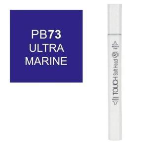 قلم ماركر تاتش برأس لين مزدوج  Ultra Marine-PB73