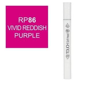 قلم ماركر تاتش برأس لين مزدوج  Vivid Reddsh Parbel-RP86