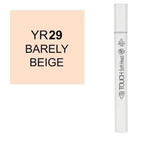 قلم ماركر تاتش برأس لين مزدوج Bareley Beige-YR29