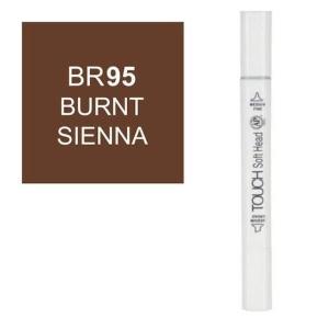 قلم ماركر تاتش برأس لين مزدوج Burnt Sienna-BR95