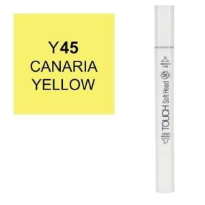 قلم ماركر تاتش برأس لين مزدوج Canaries Yellow-Y45