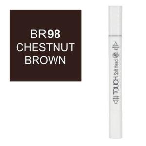 قلم ماركر تاتش برأس لين مزدوج Chestnut Brown-BR98