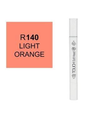 قلم ماركر تاتش برأس لين مزدوج Light Orange-R140