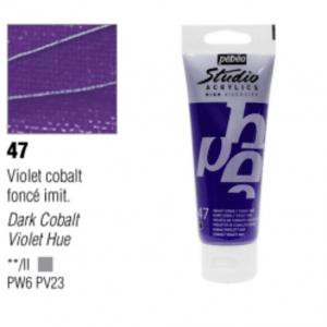 انبوابة اكريلك 100مللي بيبيو -47 Dark Cobalt Violet