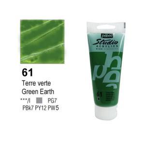 انبوابة اكريلك 100مللي بيبيو -61 Chrome Green Hue