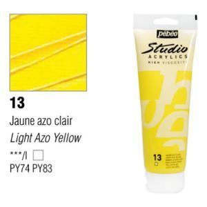 انبوابة اكريلك 100مللي بيبيو -13 Light Azo Yellow
