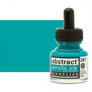 برطمان حبر اكريلك 30 مللي SENNELIER رقم 341 لون  Turquoise