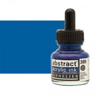 برطمان حبر اكريلك 30 مللي SENNELIER رقم 385 لون Primary Blue