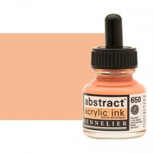 برطمان حبر اكريلك 30 مللي SENNELIER رقم 650 لون      Blush Tint